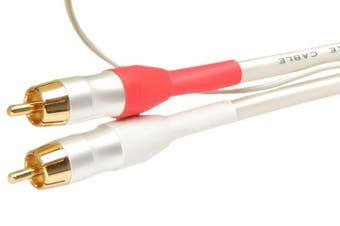 Accento Dynamica Stereo RCA High-Quality OFC Interconnect Cable Length: 0.8M