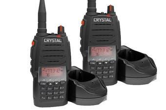 Crystal DBH50RKT Professional Dual 80 Channel 5W UHF CB Radio