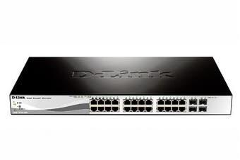 D-Link Dgs-1210-28 Network Switch Black 1U
