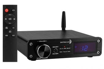 Dayton Audio DTA-PRO 100W Class-D Amplifier w/ Bluetooth & USB DAC