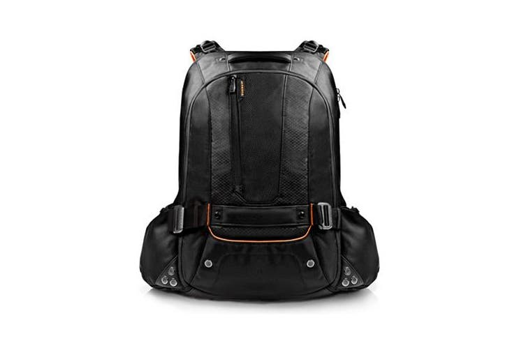 """Everki Beacon Laptop Backpack w/ Gaming Console Sleeve fits 18"""" Black"""