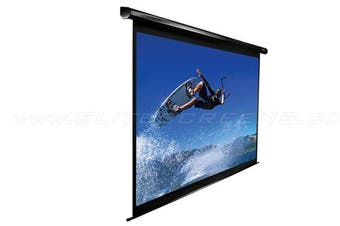 "Elite Screens ELECTRIC90X 90"" Electric Screen"