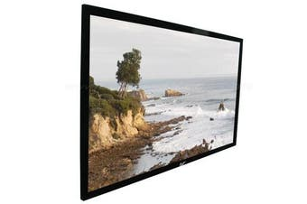 "Elite Screens 100"" 16:9 Fixed Frame Projector Screen - ER100WH2"