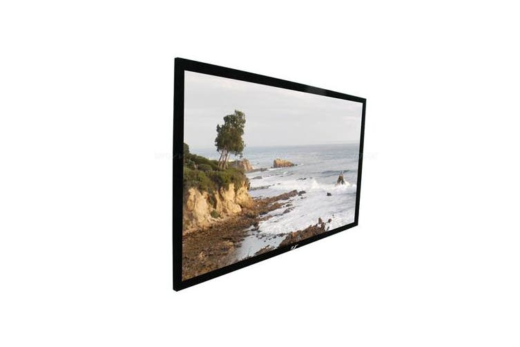 """Elite Screens 100"""" 16:9 Fixed Frame Projector Screen - ER100WH2"""