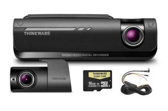 Thinkware F770D Front & Rear 1080P Dash Cam + Hardwire 16GB