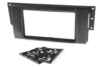Landrover Single / Double DIN Facia w/ Storage Pocket FP8090