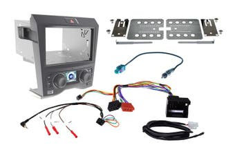 Holden Commodore VE Series 1 Facia Installation Kit FP9350 Black