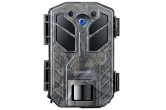 Apeman H70 Wildlife Hunting Trail Trap Camera 30MP 4K with Infrared