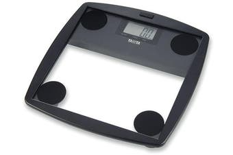 Tanita HD-355 150Kg Capacity Glass Digital LCD Bathroom Scale Black