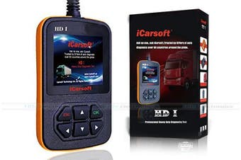 iCarsoft HD I Heavy Duty Vehicle OBD2 Diagnostic Code Scanner