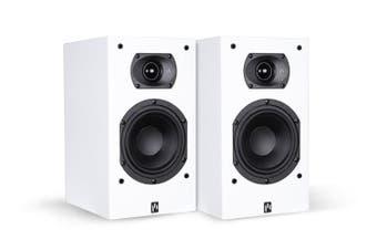 Aperion Intimus 5B Bookshelf Speaker (Pure White, Pair)