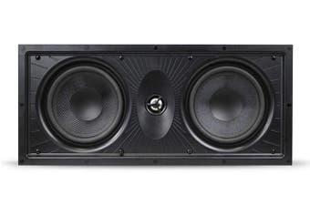 "Aperion LCR In-Wall Speaker w/ Dual 6.5"" Woofers & 1"" Titanium Tweeter"