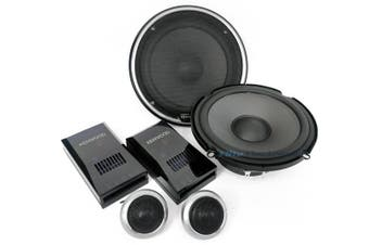 "Kenwood KFC-PS170C 6.5"" 17cm 2-Way 400W Component Car Audio Speakers"