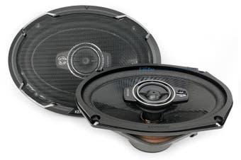 "Kenwood KFC-PS6976 Performance 6x9"" 550W 3-Way Car Coaxial Speakers"