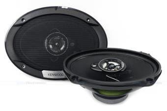 "Kenwood KFC-S6976EX S-EX Series 6x9"" 3-Way 500W Coaxial Speakers"
