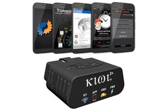 PLX Kiwi 2+ Plus OBD2 OBDII Wireless Bluetooth Diagnostic Scanner
