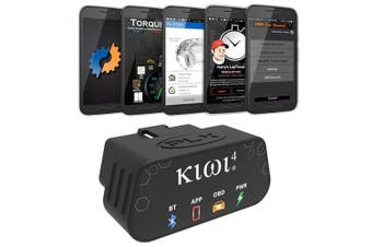 PLX Kiwi 4 OBD2 OBDII Bluetooth Diagnostic Scanner For Android & Apple