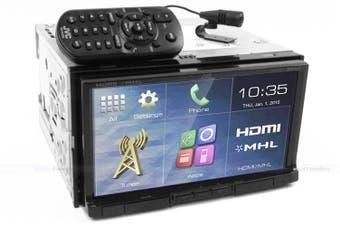 "JVC KW-V51BT 7"" Bluetooth Multimedia Apple Carplay App Mode Siri"