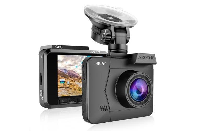 AZDOME M06 Ultra HD Dash Cam - Black