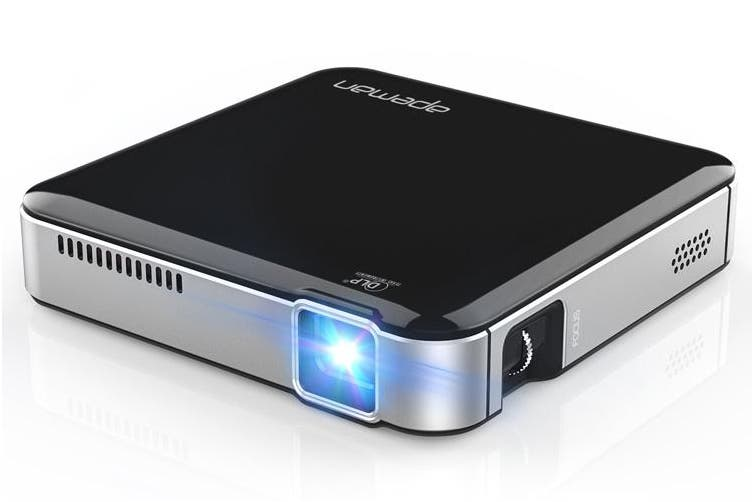 Apeman M4 Mini Portable DLP Pocket Office Outdoor Camping Projector