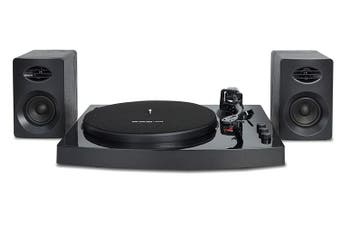 mbeat Pro-M Stereo Turntable System w/ Bluetooth - Black