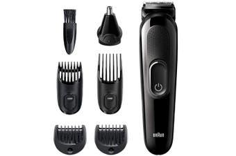 Braun MGK3220 6-in-1 Multi Grooming Kit Beard Face Ear Nose Trimmer Hair Clipper