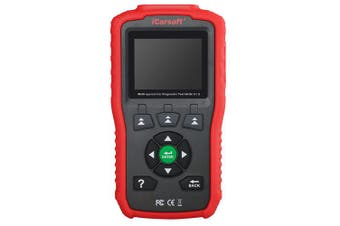 Icarsoft MHM V1.0 For Mitsubishi Honda Mazda Acura OBD2 Diagnostic Coder Red