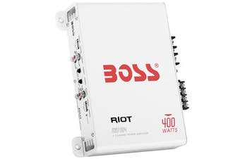 Boss Audio MR1004 400W 4-Channel Marine Amplifier