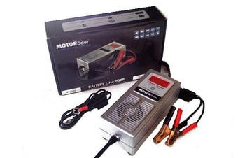 Motorader Reverse Pulse Battery Charger 12V 3000mA