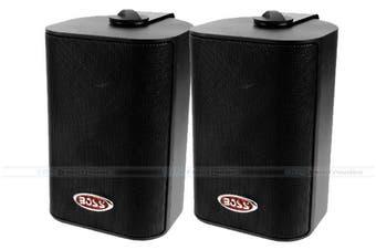 "Boss Audio MR4.3B 4"" Marine/Outdoor Speakers"