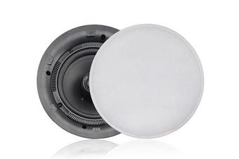 """Fusion MS-CL602 2-Way 6"""" 40W RMS In-Ceiling Speakers"""