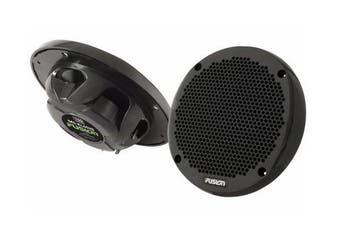 "Fusion MS-EL602B 6"" Shallow Mount 2-Way Marine Speakers BlackMS-EL602B 6"" Shallow Mount 2-Way Marine Speakers Black"
