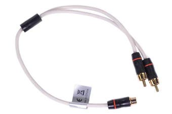 Fusion MS-RCAYM RCA Splitter Cable Female to Dual Male Connector