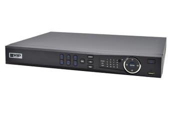 VIP Vision Pro 8MP (200Mbps) 4Ch NVR 4PRO3 PoE IP Recorder No-HDD(Max20TB)