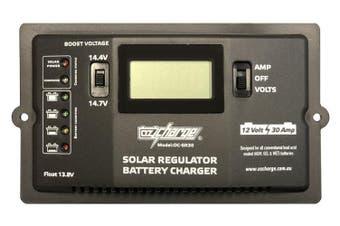 OzCharge 12V 12 Volt 30A 30 Amp Solar Controller Regulator OC-SR30