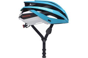 Coros Omni Smart Road Bike Helmet Matte Blue Variant Size Value Large