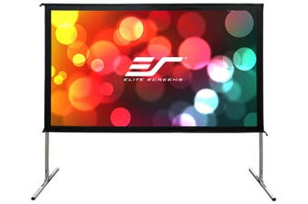 "Elite Screens Yard Master 2 WraithVeil Dual 150"" 16:9 Projector Screen"