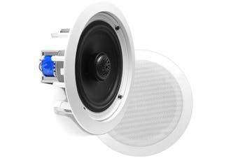 Pyle 6.5'' 2-Way In-Wall In-Ceiling Midbass Speakers (Pair)
