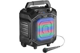 Nyne PERFORMER+ Portable Bluetooth Speaker FM Tuner + Microphone