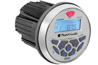 Planet Audio PGR35B Mechless Bluetooth USB Marine Receiver