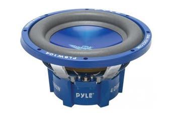 """Pyle PLBW124 12"""" Blue/Chrome DVC Subwoofer"""