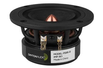 "Dayton Audio PS95-8 3.5"" Point Source Full-Range Driver 8 Ohm 3-1/2"""