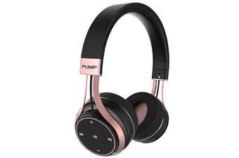 BlueAnt Pump Soul On-Ear Wireless Headphones - Black/Rose Gold