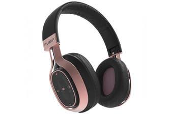 Blueant Pump Zone Wireless Headphones - Black/Rose Gold