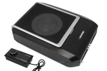 "Alpine PWD-X5 8"" Compact Powered DSP Subwoofer w/ 5 Channel Amplifier"