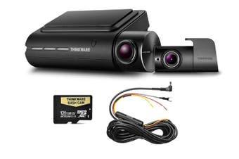 Thinkware Q800PD Front & Rear 1080P Dash Cam + Hardwire 128GB