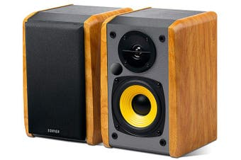 Edifier R1010BT 2.0 Bookshelf Speaker with Bluetooth - Brown