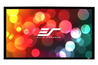 "Elite Screens SB110WH2 SableFrame B2 110"" 16:9 4K Fixed Screen"
