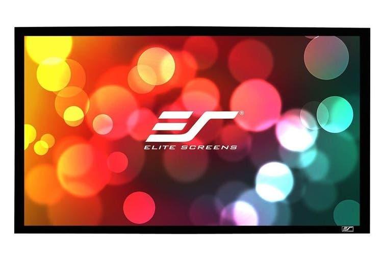 "Elite Screens SB150WH2 SableFrame B2 150"" 16:9 4K Fixed Screen"