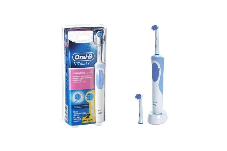 Oral-B Vitality Sensitive Clean Rechargeable Electric Toothbrush